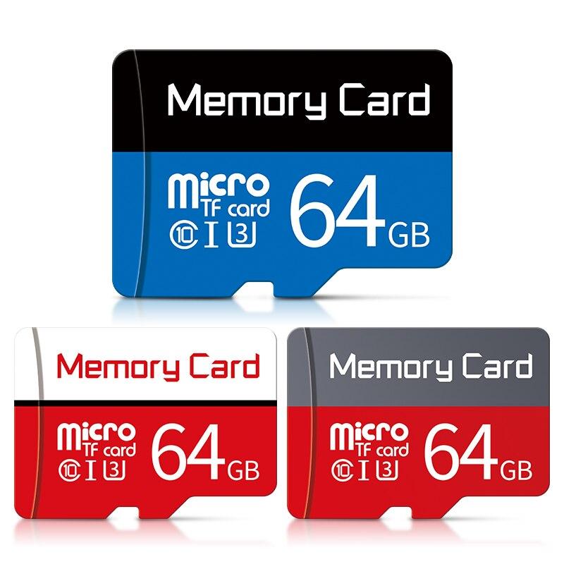 100% Original tarjeta Micro SD de 64 gb Class10 tarjeta de memoria 64 gb Mini flash microSD de 64 GB cartao de memoria de TF tarjeta para teléfono