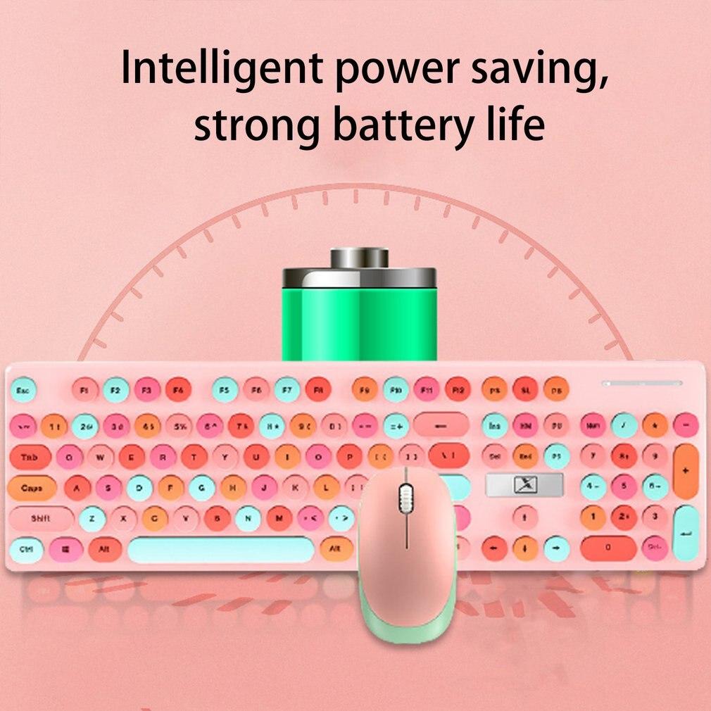Mouse e teclado conjunto sem luz mouse