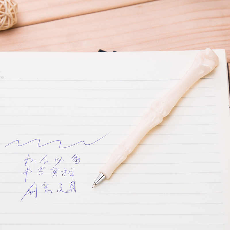 1 sztuk Kawaii kości długopis magia Pilot długopis szkolne materiały biurowe do pisania szkolne materiały papiernicze długopis
