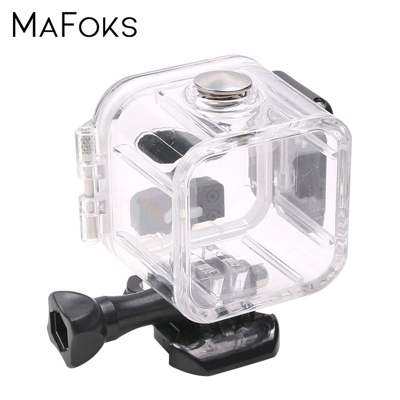 45 Meter Underwater Waterproof Case for GoPro Hero 4 Session 5 Session Action Camera Diving Housing Mount for Go Pro Accessorie-in Sports Camcorder Cases from Consumer Electronics