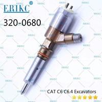 ERIKC 320-0680 Caterpillar C4.4 엔진 용 새 CAT 인젝터 2645A747 커먼 레일 인젝터 3200680 슈트