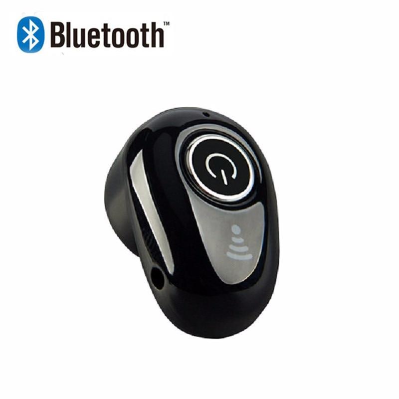 Mini Bluetooth kulaklık S650 kablosuz in-kulak gizli Auriculares kulakiçi kulaklık için Mic ile Handsfree tüm akıllı telefonlar