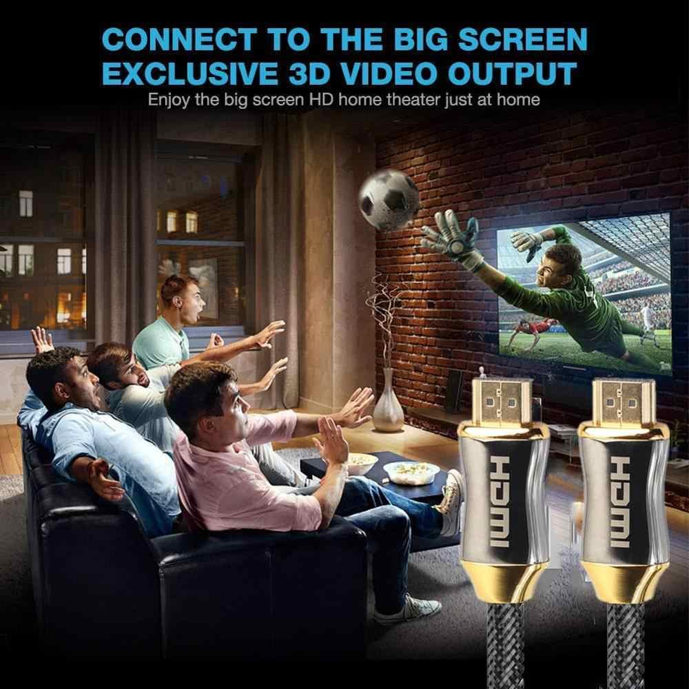 1M 2M 3M 5M 10M 15M 4K 60Hz HDMI Ke HDMI Kabel kecepatan Tinggi 2.0 Berlapis Emas Koneksi Kabel untuk UHD FHD 3D Xbox PS3 PS4 TV