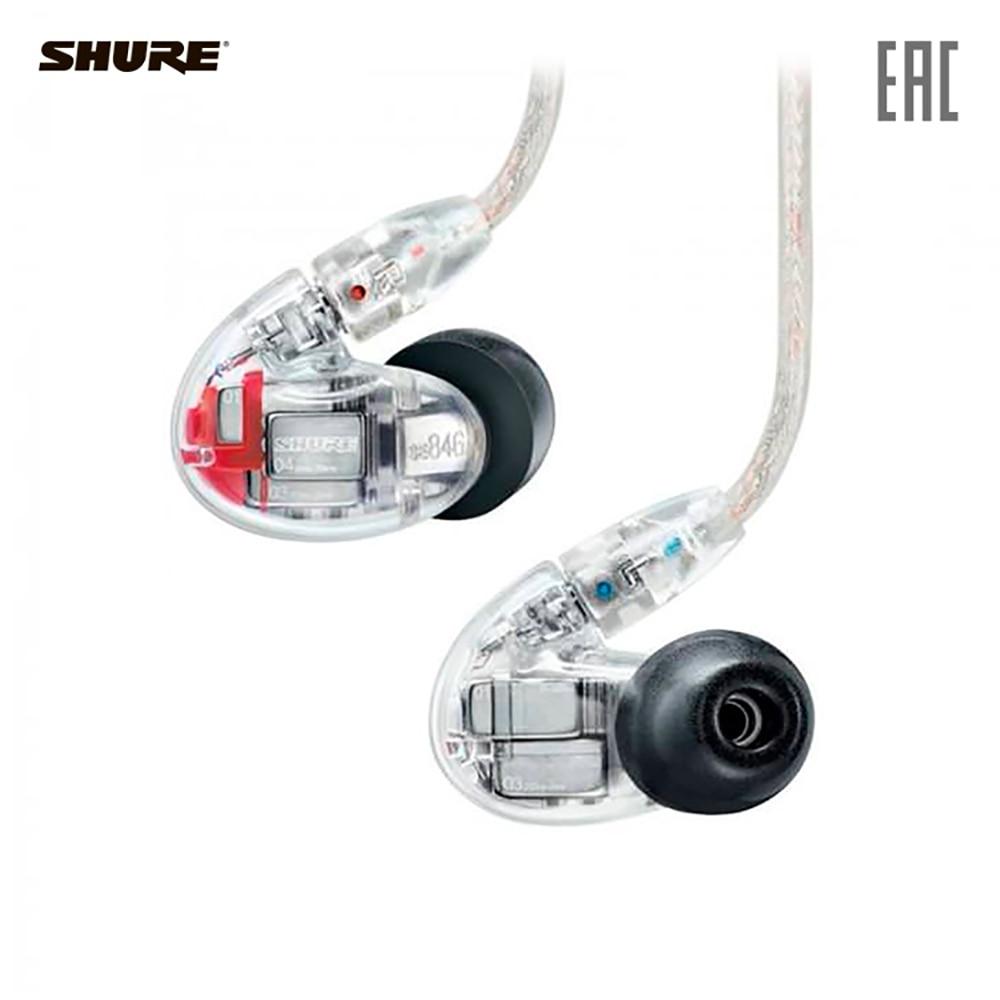 Earphones & Headphones SHURE SE846-CL+BT1-EFS Consumer Electronics Portable Audio Earphone Headphone headset for phone computer наушники shure se846 cl bt1 прозрачный