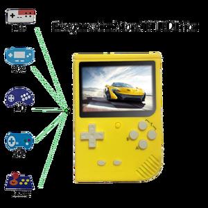 Image 3 - レトロポータブルミニゲームコンソール 64 ビット 3.0 インチカラー液晶子供色ゲームプレーヤー内蔵 1000 ゲームsdカード