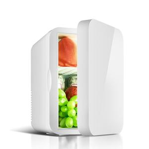 12V Refrigerator Freezer Heater 6L Mini Car Home Fridge Cooler & Warmer Electric Fridge Portable Icebox Travel Refrigerator