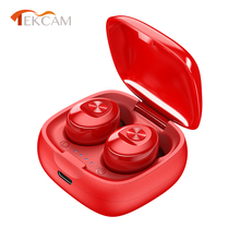 2020 New Bluetooth 5.0 Earphones 3D Hifi Stereo Earbuds Headset With Microphone Charging Box Handsfree Calls Wireless Headphones k10b bluetooth headset handsfree wireless stereo bluetooth headphones car driver handsfree bluetooth earphones storage box