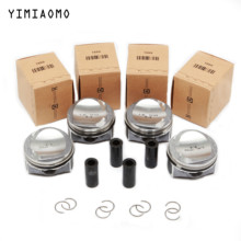 06H 107 065 CP EA888 Engine Pistons Kit For Audi A3 A4 TT VW CC Jetta Passat B7 Golf Skoda Seat 1.8 TFSI Pin 23mm 06H198151J genuine new high quality camshaft kit fit for vw cc r32 rabbit passat cc golf passat audi a3 a4 1 8t 06h109021j 06h109022l