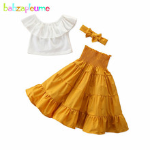 3Piece/2-6Years/2020 Summer Outfit Toddler Girls Sets Fashion Kids Clot