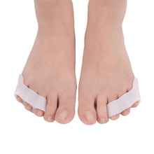 Silicone Toe Separator Foot Braces Support 3 Holes Little To