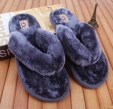 2021 nova primavera verão inverno em casa de algodão de pelúcia chinelos de pele homem piso interior quarto sapatos planos