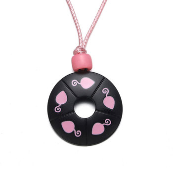 Harong Miracle Ladybug Necklace Rope Exquisite Ladybug Chat Noir Kids Punk Jewelry Pink Round Pendant Necklaces for Girls Gift 1