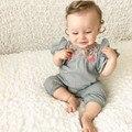 4 # трико, летняя футболка с вышивкой для новорожденных, младенцев, одежда, Цветочный комбинезон боди, одежда для маленьких девочек Одежда дл...