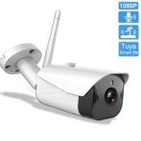 Tuya Smart Leben IP Kamera Im Freien Wasserdichte WiFi Kamera 1080P Nachtsicht Zwei-wege Audio Home Security Surveillance CCTV kamera