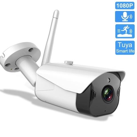 tuya vida inteligente camera ip ao ar livre a prova dwifi agua wi fi camera