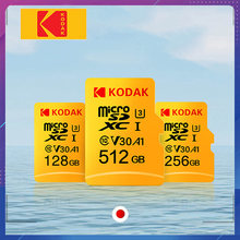 Kodak de alta velocidad sd micro 64gb Clase 10 U3 4K carta sd micro 128gb tarjeta de memoria Flash 256GB mecard sd micro kart carta sd 32 gb(China)