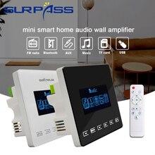 Mini Trong Tường Khuếch Đại Bluetooth Fm Radio Touchkey Nhạc Nền Hệ Thống 2*15W HiFi Tivi Bảng Điều Khiển Âm Thanh Stereo dành Cho Khách Sạn Âm Thanh Gia Đình