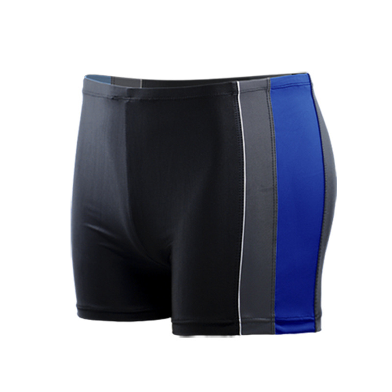 New Style MEN'S Swimming Trunks GIB Mixed Colors Slim Fit Boxer Comfortable Swimming Plus-sized Shorts