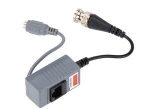 Image 3 - Accesorios para cámaras CCTV, transceptor de Audio y vídeo Balun BNC UTP RJ45, Balun de vídeo con Cable CAT5/5E/6, 10 Uds.