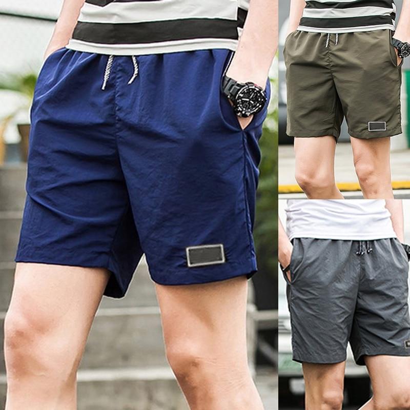 Men Beach Casual Shorts Athletic Gym Sports Training Swimwear Shorts for Summer N66