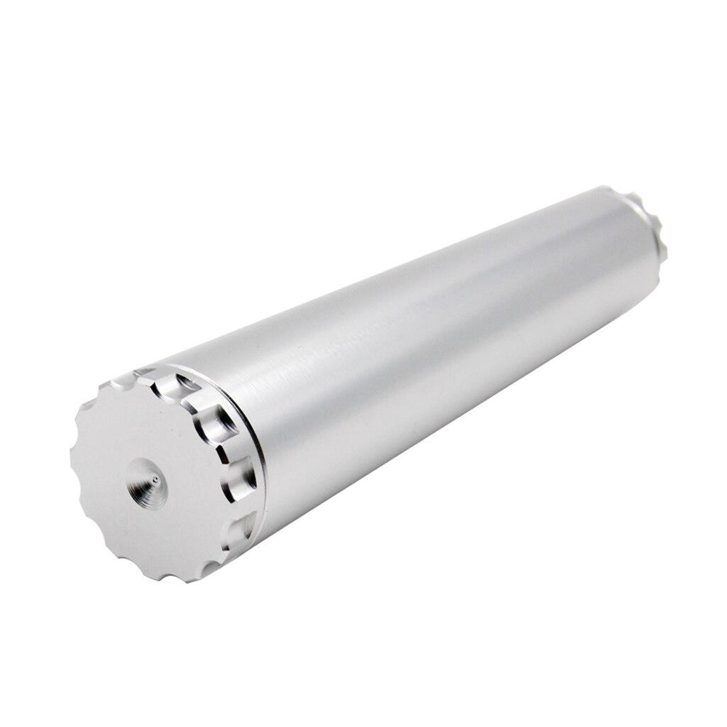 149mm Car Fuel Filter Aluminum Alloy Inline Oil Fuel Filter Fitting Air Fuel Filter Spring 5/8-24 Thread for 4003 WIX 24003
