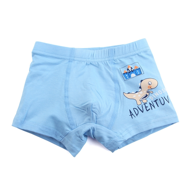 5 Pieces Baby Boys Panties Cotton Cute Cartoon Dinosaur Children Underpants 1-10 Year Kids Panties for Boys Short Briefs 5