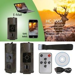 HC-700A kamera myśliwska 16MP 1080P LCD paranormalna skautowa kamera obserwacyjna 940NM kamera podczerwieni Full Night Vision Wildlife