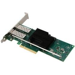 SSU SFP + 10Gb podwójny port PCI-E Ethernet Converged Adapter karta sieciowa X710-DA2  SFP nie wchodzi w skład zestawu