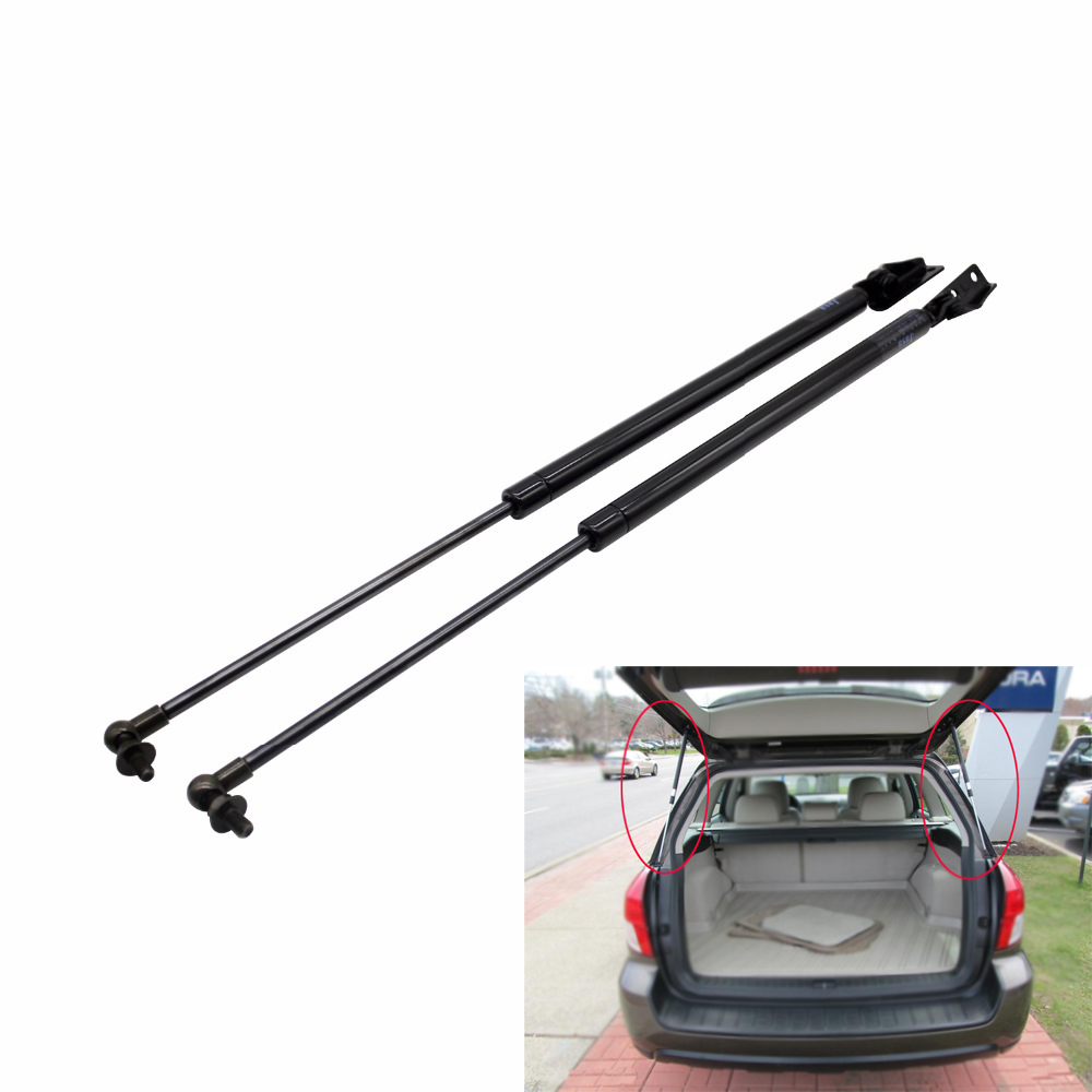 Bestlymood 4Pcs Rear Window+Tailgate Gas Struts Support Lift for Pathfinder R51 2005-2012