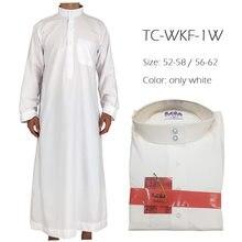 Roupa islâmica homem djellaba homem muçulmano homem arábia saudita paquistão kurta muçulmano trajes vestido muçulmano jubba thobe