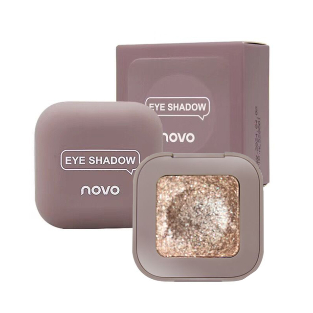 Novo Glitter Eyeshadow Makeup Palette Eye Shadow Palette Shine Polarize Eyeshadow Sparkling Duochrome Pigment Cosmetics 2019 5