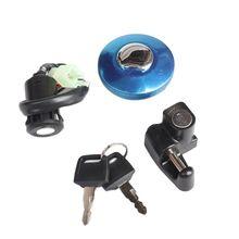 Motosiklet örtüsü kilit yakıt depo kapağı anahtarı kilit anahtarı için Monkeybike Gorilla maymun motosiklet aksesuarları