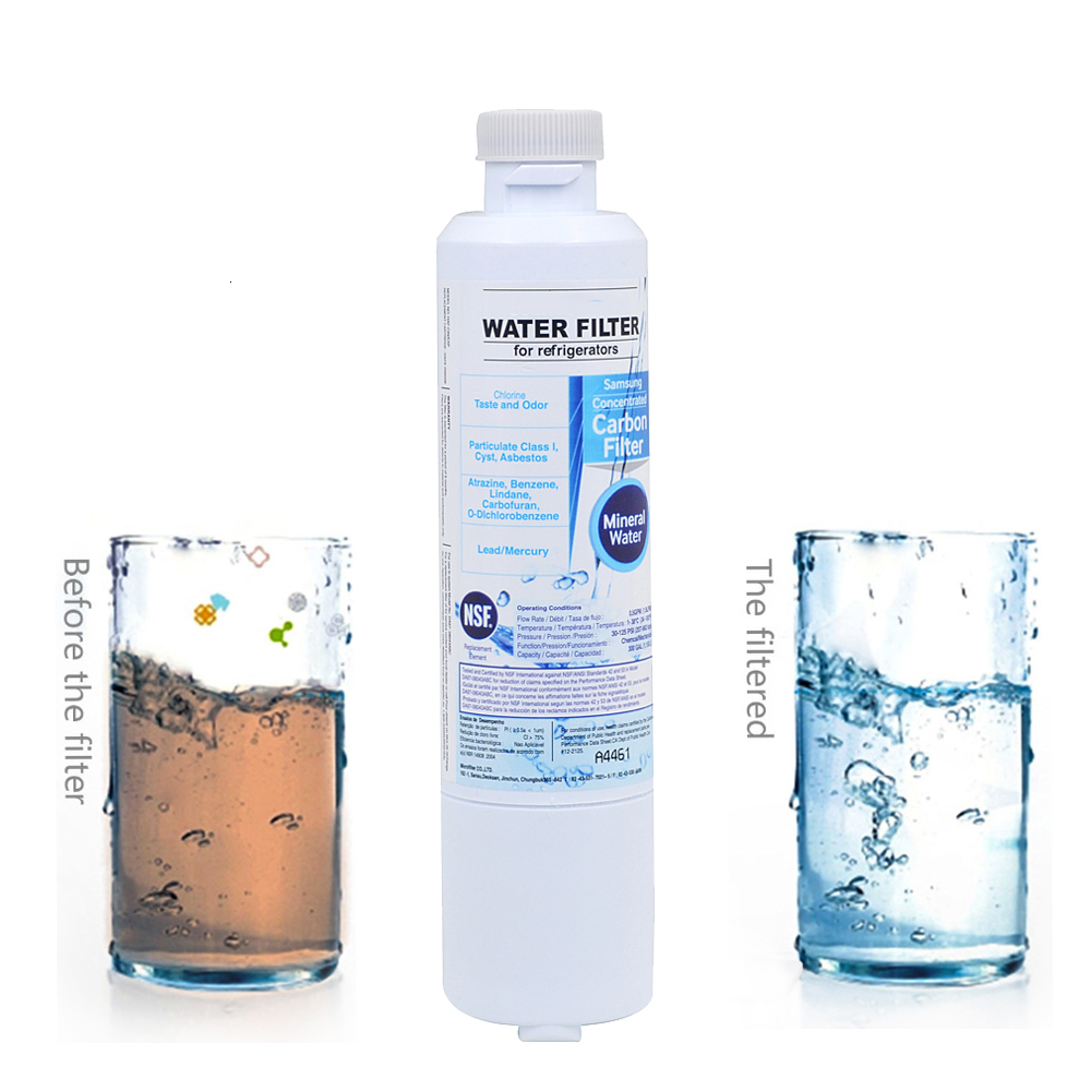 Hot Sale! Refrigerator Water Filter For Samsung Da29 00020b Aqua pure Plus Activated Carbon Replacement Water Filter 2 Pcs/lot - 5