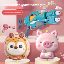 New Cartoon Backpack Water Guns for Kids Spray Toy High Pressure Backpack Water Spraying Toy Outdoor Water Children