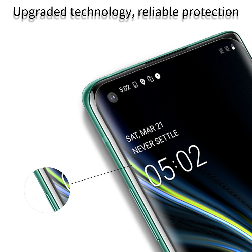 Oneplus 8 Pro Nillkin Amazing 3D DS+ Max Tempered Glass Protector 4