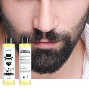 NEW 1 pc 30ml 100% Organic Beard Oil Hair loss Products Spray Beard Growth Oil For Growth Men Beard Grow Dropshipping beard growth oil 100% natural organic beard essential oil for men beard growth hair growth essence oil moustache grow beard