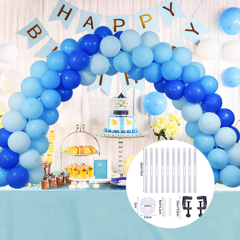 Balloon Arch Table Balloon Stand DIY Birthday Party Wedding Decoration Adjustable Tabletop Balloon Arch Kits Balloon Accessories