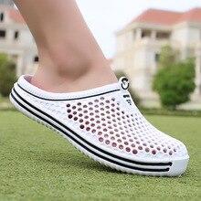 Large Size Sandals Sandals Couples Porous Shoes Breathable G