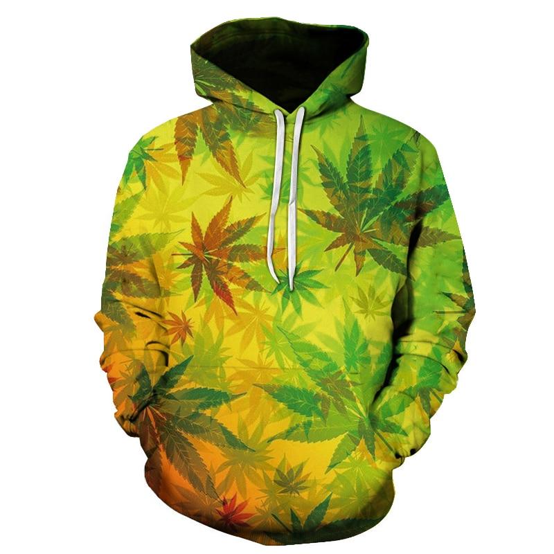 2020 neue Maple Leaf Camouflage 3d Print Unkraut Hoodie Männer Und Frauen Sweatshirts Harajuku Mit Kapuze Beiläufige Hoodies Jacke Tops Mantel