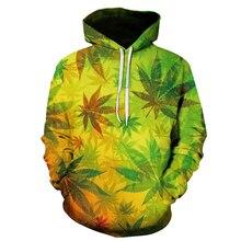 2020 New Maple Leaf Camouflage 3d Print Weed Hoodie Men And Women Sweatshirts Harajuku Hooded Casual Hoodies Jacket Tops Coat