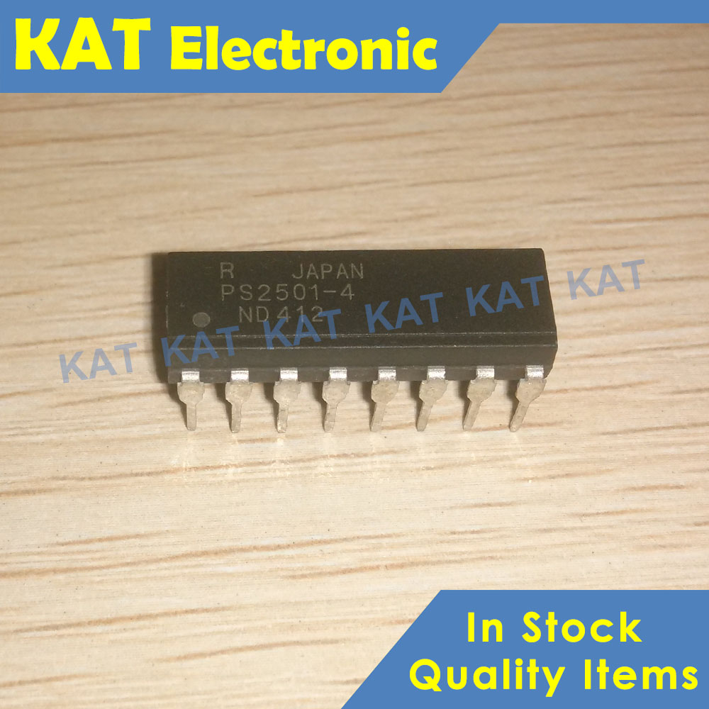 5PCS/Lot PS2501-4 PS2501 DIP-16 HIGH ISOLATION VOLTAGE SINGLE TRANSISTOR TYPE MULTI PHOTOCOUPLER SERIES