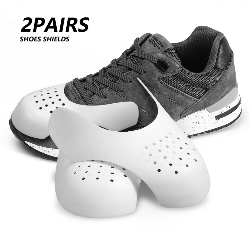 Shoe Shield For Sneakers Anti-Crease Wrinkled Fold Shoes Support Toe Cap Shoes Strecher Protector 1/2/3pairs