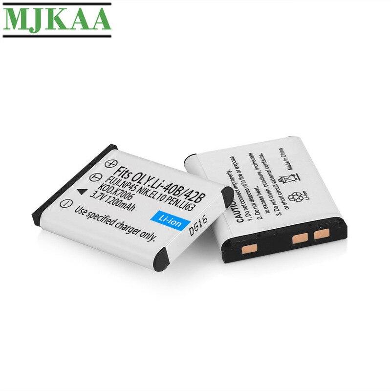 /& Charger Set for Nikon EN-EL10 Digital Camera Battery /& Charger Kit 3-Pack 1200mAh, 3.7V, Li-Ion Replacement Nikon S203 Battery
