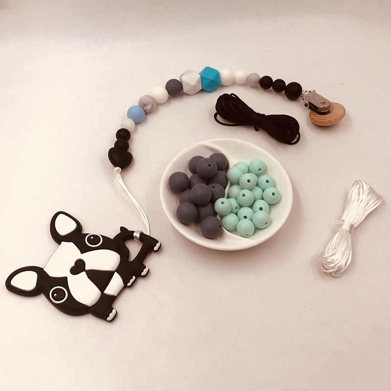 5 Meters DIY Pacifier Clips Fixed Rope Baby Girl Baby Boy Jewelry Bracelet Crib Toy Knitting Rope Teething Waxed Wind Rope