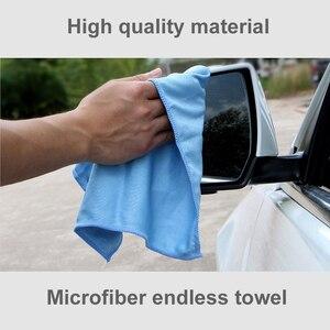 Image 2 - Lavaggio auto pulizia asciugamano in microfibra morbido dettaglio auto straccio in microfibra asciugamano assorbente strofinaccio panno occhiali panno