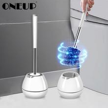 ONEUP TPR miękka silikonowa szczotka do wc z ukrytą pincetą muszla klozetowa szczotka i zestaw świeczników urządzenia do oczyszczania zestaw akcesoriów łazienkowych