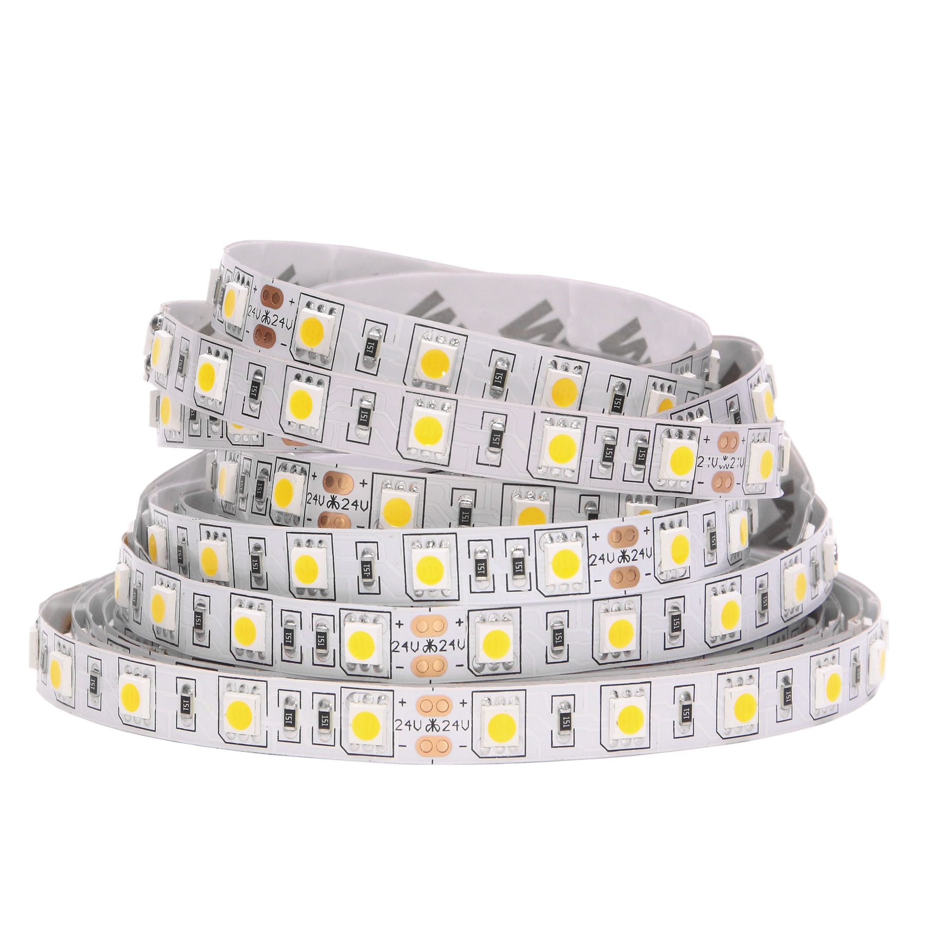 SMD 5050 RGB LED Strip Waterproof 5M 300LED DC 12V RGBW RGBWW Fita LED Light Strips Flexible Neon Tape Luz Monochrome