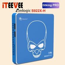 Beelink-Dispositivo de tv inteligente GT KING PRO S922X-H, decodificador con Android 9,0, cuatro núcleos, 4 GB + 64 GB de ROM, WIFI 2,4G/5,8G, USB 3,0, Bluetooth 4,1