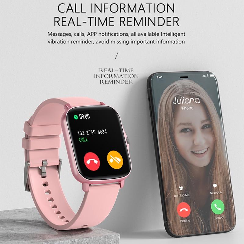 Full Touch Y20 Sport Smart Watch uomo donna IP68 quadrante personalizzato frequenza cardiaca Fitness Tracker Smartwatch orologio da polso GTS 2 P8 plus 2
