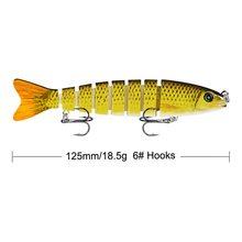 2 см/19 г рыболовные крючки приманки премиум класса 10 секций
